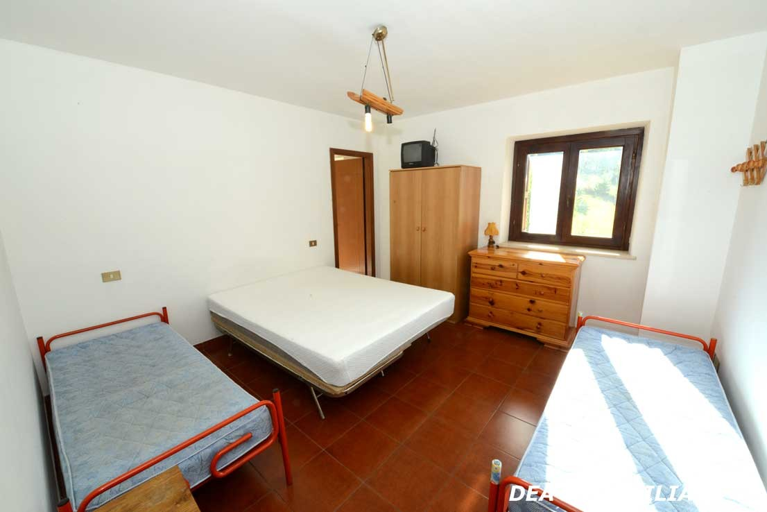 terza camera da letto del villino a schiera di via sirente ad Ovindoli